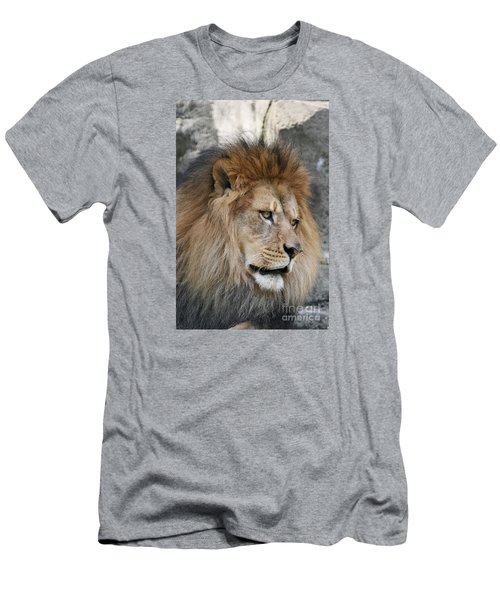Men's T-Shirt (Slim Fit) featuring the photograph Onyo #4 by Judy Whitton