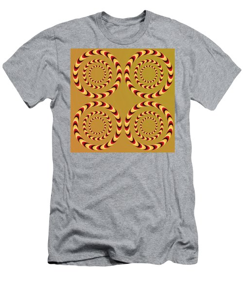 Optical Ilusions Summer Spin Men's T-Shirt (Athletic Fit)