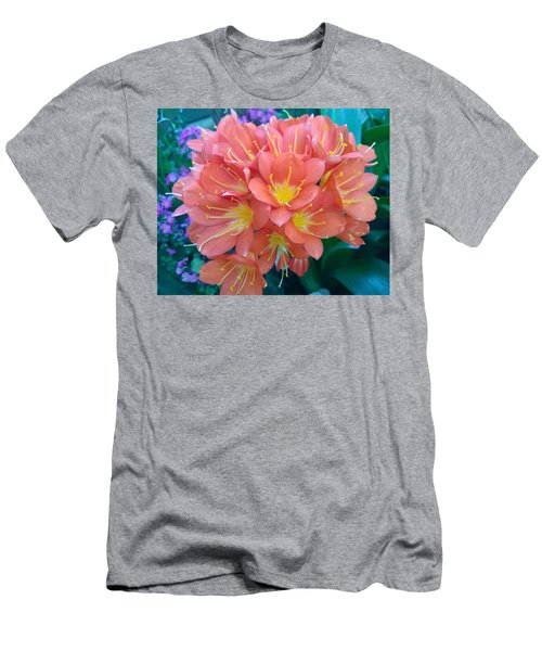 Orange Bouquet Men's T-Shirt (Athletic Fit)