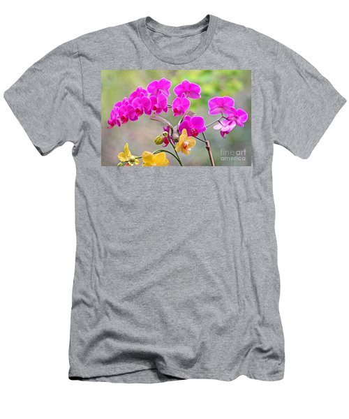 Men's T-Shirt (Slim Fit) featuring the photograph Warbler On Orchards Photo by Luana K Perez