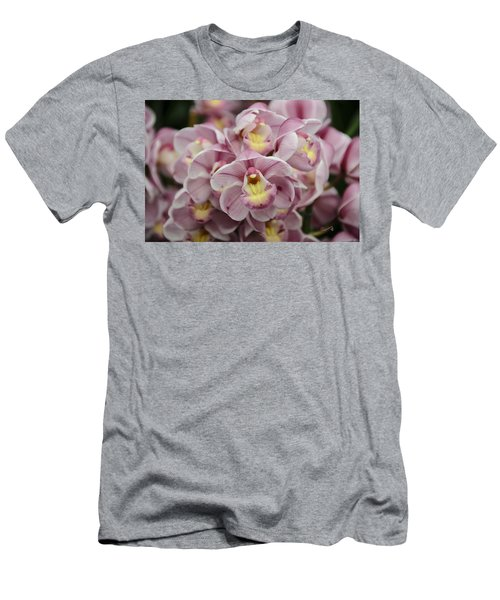 Orchid Bouquet Men's T-Shirt (Athletic Fit)