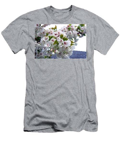 Oregon Cherry Blossoms Men's T-Shirt (Athletic Fit)