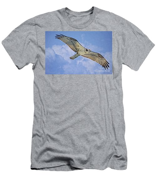 Osprey 91711 Men's T-Shirt (Slim Fit) by Deborah Benoit