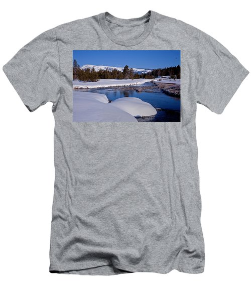 Men's T-Shirt (Slim Fit) featuring the photograph Otter Creek by Jack Bell