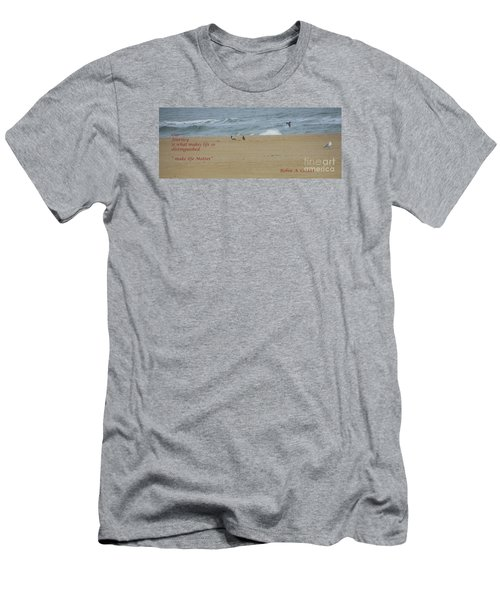 Our Journey  Men's T-Shirt (Slim Fit) by Robin Coaker
