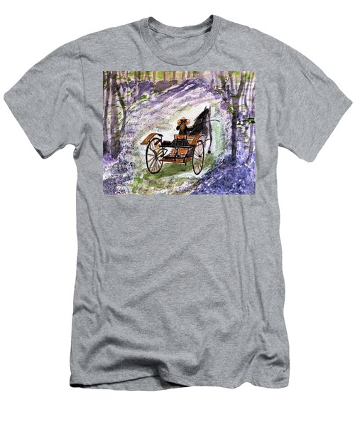 Out In The Meadowbrook Cart Men's T-Shirt (Athletic Fit)