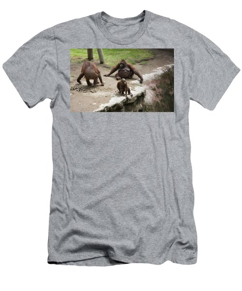 Men's T-Shirt (Slim Fit) featuring the photograph Out Of Reach by Lynn Palmer