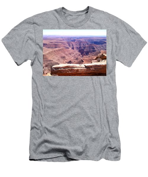 Overlook Into The Layers Of Time Men's T-Shirt (Slim Fit)
