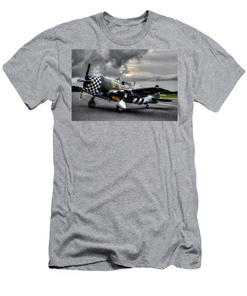 P-47 Sunset Men's T-Shirt (Athletic Fit)