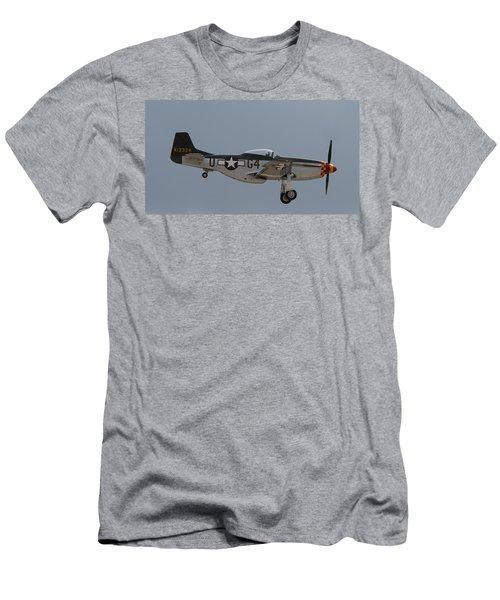 P-51 Landing Configuration Men's T-Shirt (Athletic Fit)