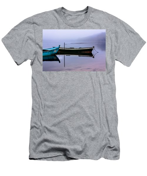 Pacheco Blue Boat Men's T-Shirt (Athletic Fit)