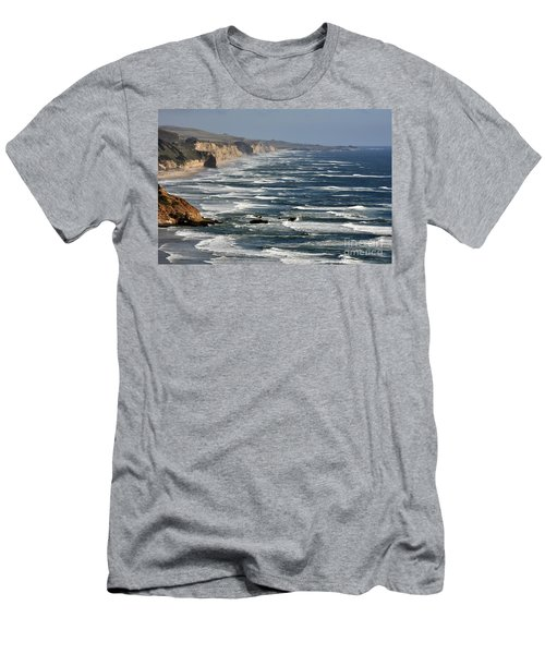 Pacific Coast - Image 001 Men's T-Shirt (Athletic Fit)