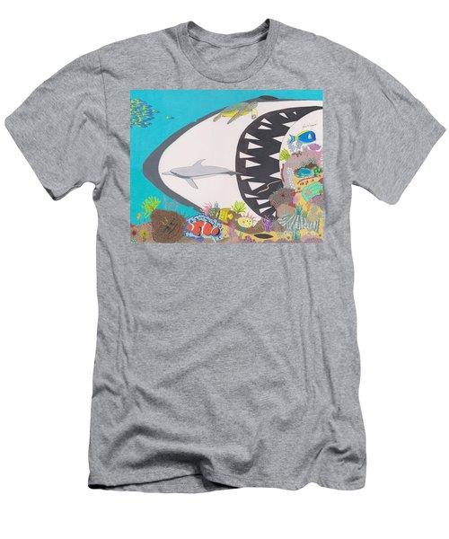 Pacific Peril Men's T-Shirt (Athletic Fit)