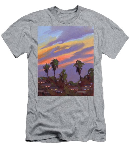 Pacific Sunset 1 Men's T-Shirt (Athletic Fit)