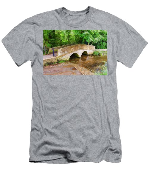 Pack Horse Bridge Men's T-Shirt (Athletic Fit)