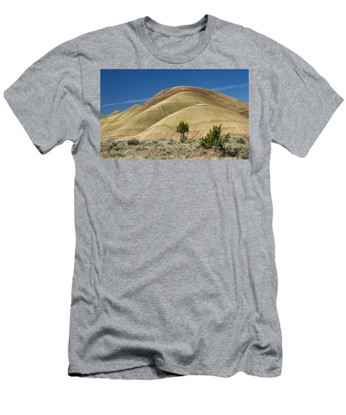 Men's T-Shirt (Slim Fit) featuring the photograph Painted Hills by Sonya Lang