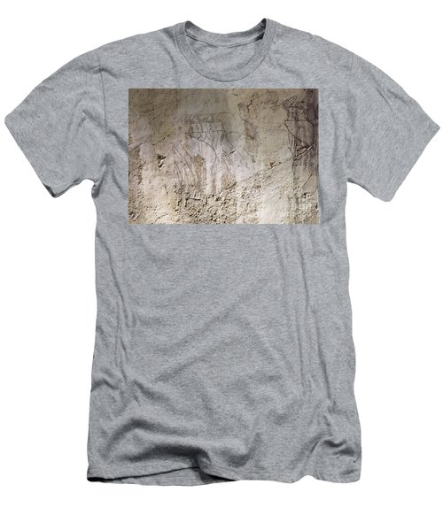 Painting West Wall Tomb Of Ramose T55 - Stock Image - Fine Art Print - Ancient Egypt Men's T-Shirt (Athletic Fit)