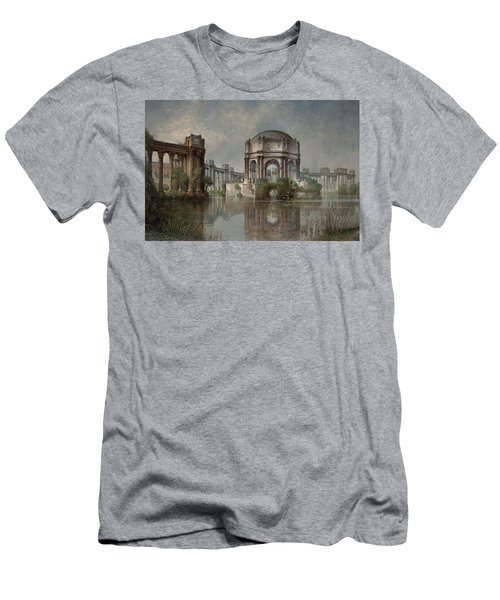Palace Of Fine Arts And The Lagoon Men's T-Shirt (Athletic Fit)