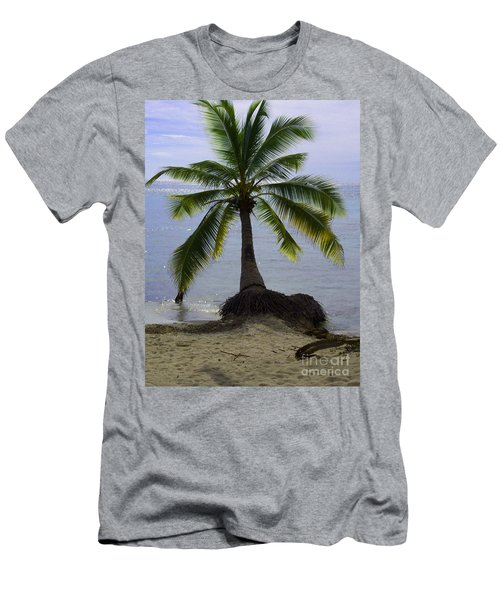 Palm At The Edge Of The Sea Number Two Men's T-Shirt (Athletic Fit)