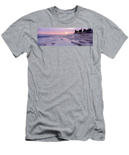 Pamukkale Turkey Men's T-Shirt (Athletic Fit)