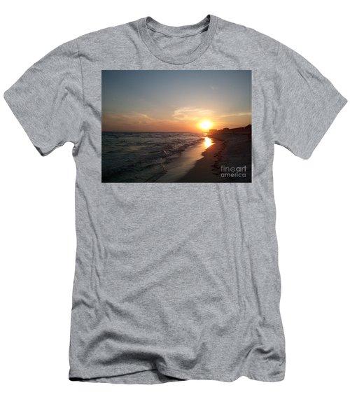 Panama City Beach Sunset Men's T-Shirt (Athletic Fit)