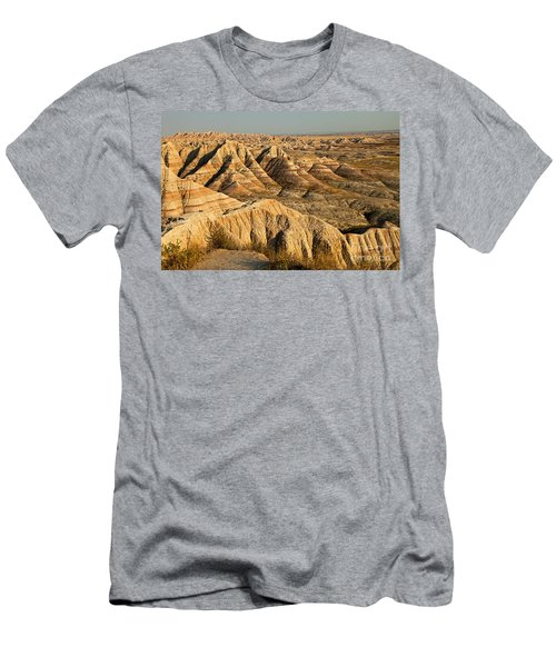 Panorama Point Badlands National Park Men's T-Shirt (Athletic Fit)