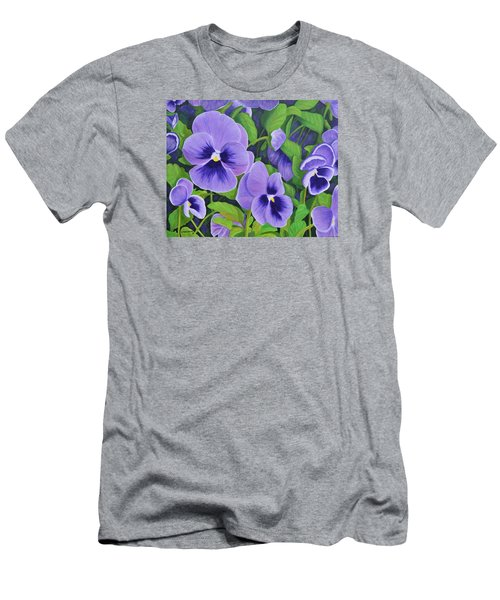 Pansies Schmanzies Men's T-Shirt (Athletic Fit)