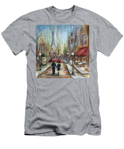 Paris Lovers Ill Men's T-Shirt (Athletic Fit)