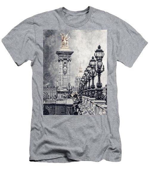Paris Pompous 2 Men's T-Shirt (Athletic Fit)
