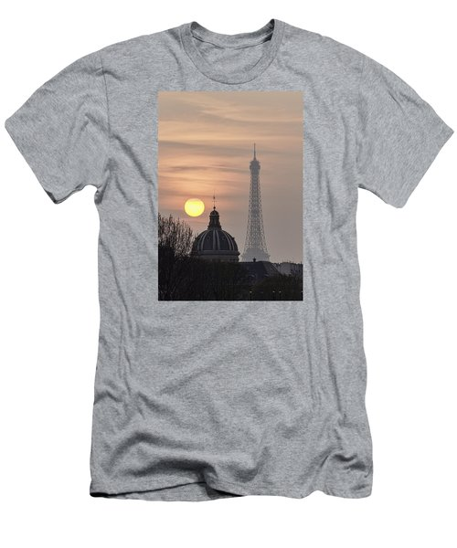 Paris Sunset I Men's T-Shirt (Athletic Fit)