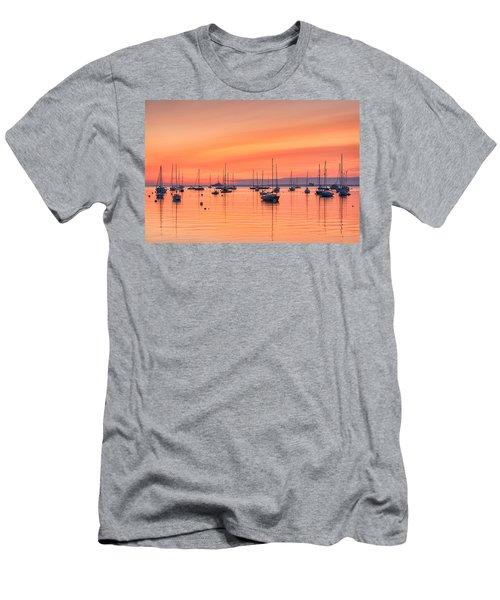 Pastel Harbor Men's T-Shirt (Athletic Fit)