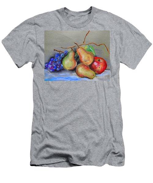 Pastel Pear Still Life Men's T-Shirt (Athletic Fit)