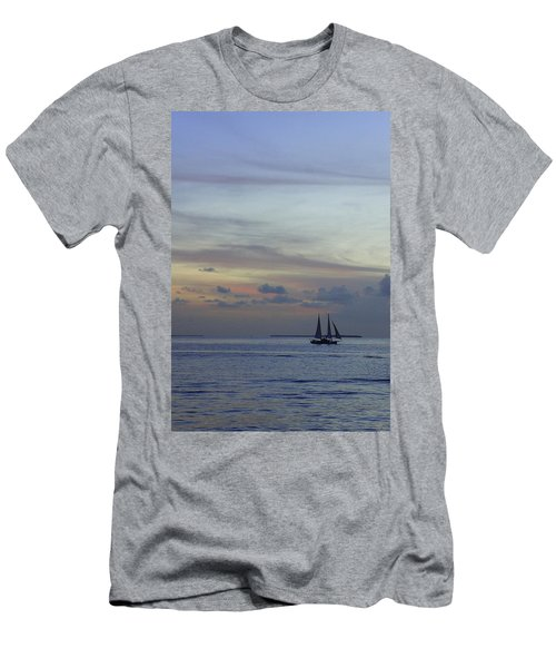 Men's T-Shirt (Slim Fit) featuring the photograph Pastel Sky by Laurie Perry