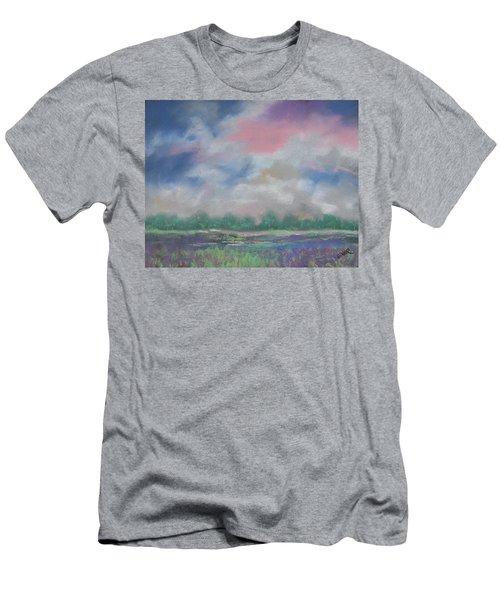 Pastel Sky Men's T-Shirt (Slim Fit) by Terri Einer