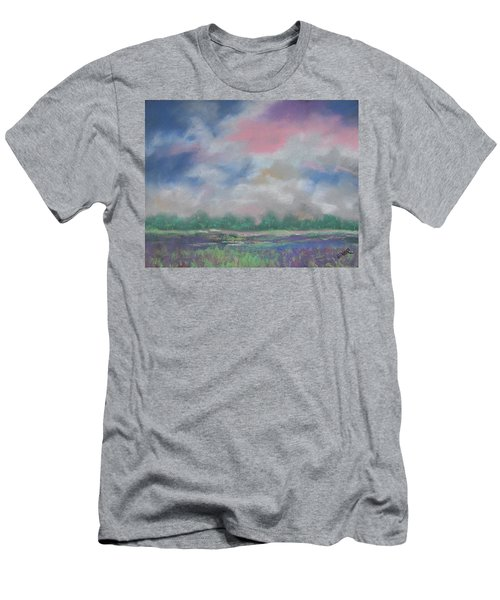 Pastel Sky Men's T-Shirt (Athletic Fit)