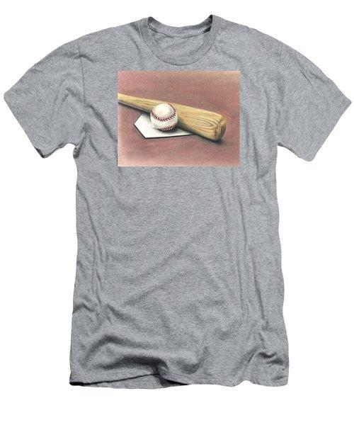 Pastime Men's T-Shirt (Slim Fit) by Troy Levesque