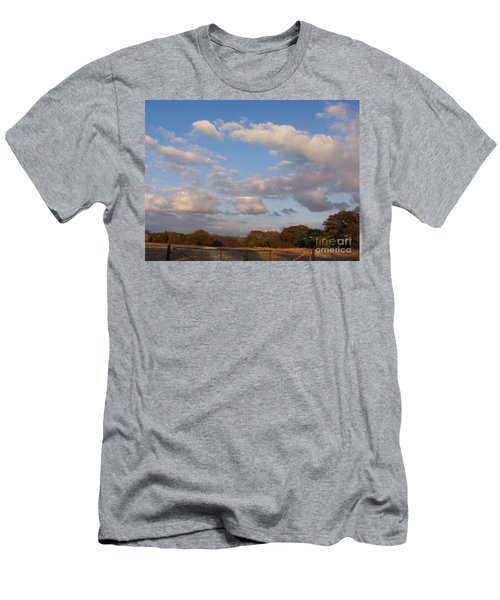 Pasture Clouds Men's T-Shirt (Athletic Fit)