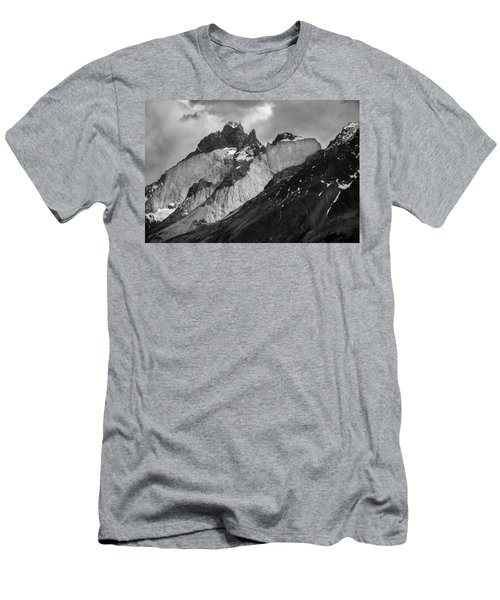 Patagonian Mountains Men's T-Shirt (Athletic Fit)