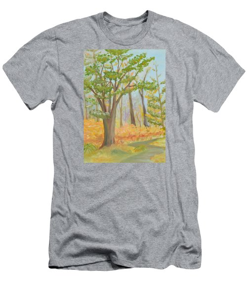 Path Of Trees Men's T-Shirt (Athletic Fit)