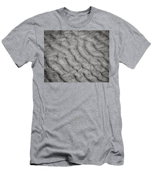 Patterns In The Sand Men's T-Shirt (Athletic Fit)