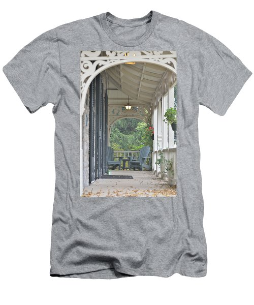 Pause For Reflection Men's T-Shirt (Athletic Fit)