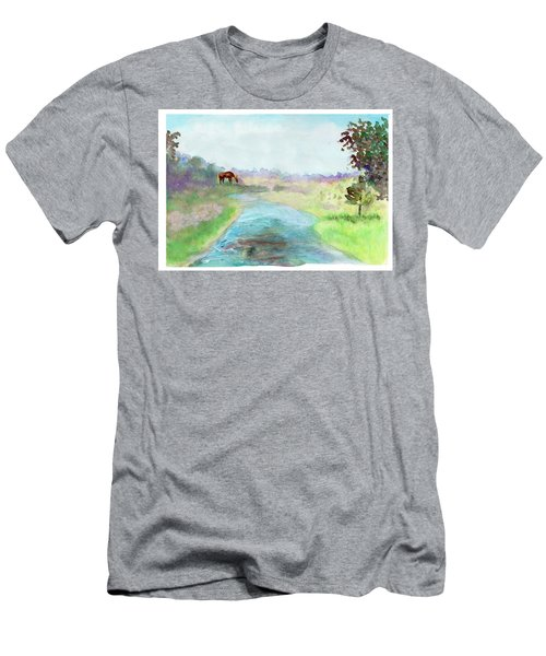 Peaceful Day Men's T-Shirt (Athletic Fit)