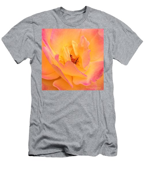 Peach Parfait  Men's T-Shirt (Athletic Fit)
