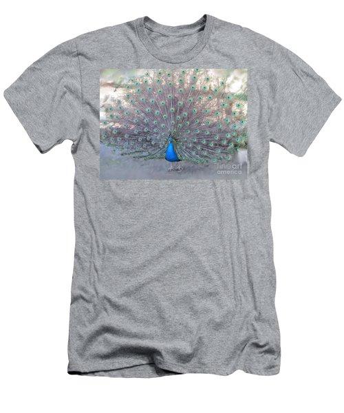 Peacock3  Men's T-Shirt (Athletic Fit)