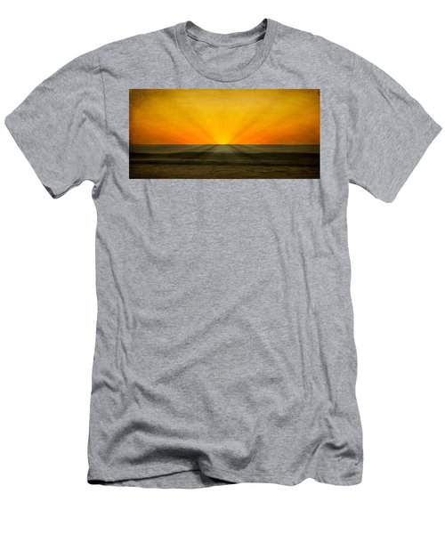 Peeking Over The Horizon Men's T-Shirt (Athletic Fit)