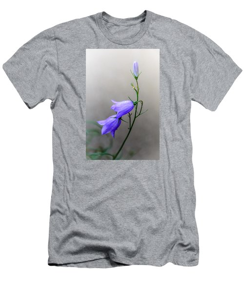 Blue Bells Peeking Through The Mist Men's T-Shirt (Athletic Fit)