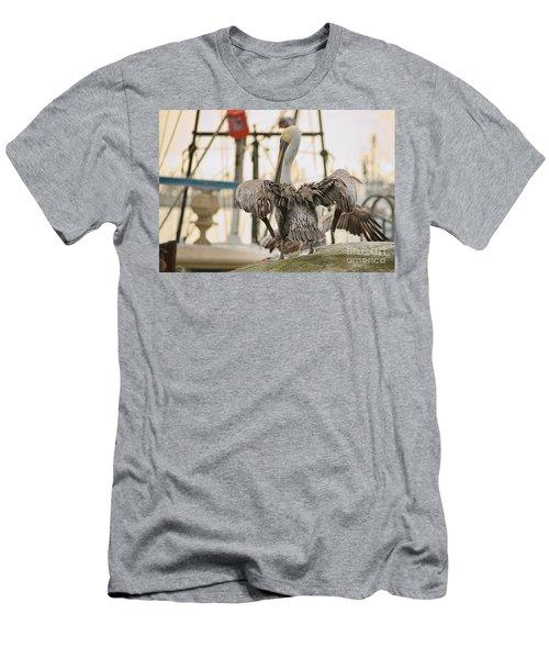 Pelican Strut Men's T-Shirt (Athletic Fit)