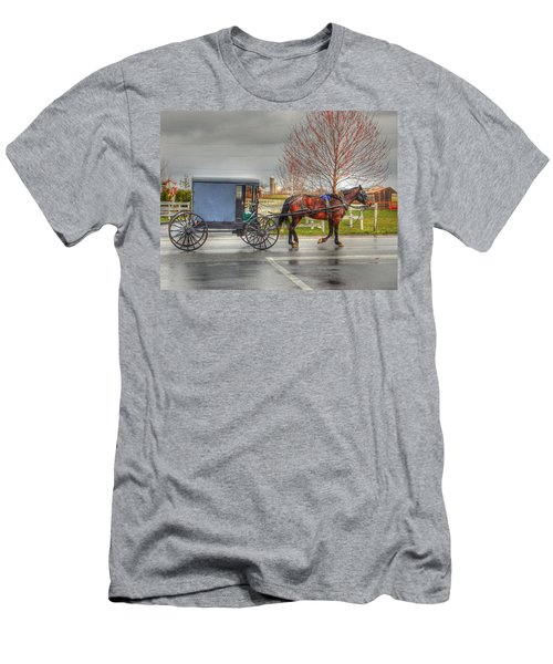 Pennsylvania Amish Men's T-Shirt (Athletic Fit)