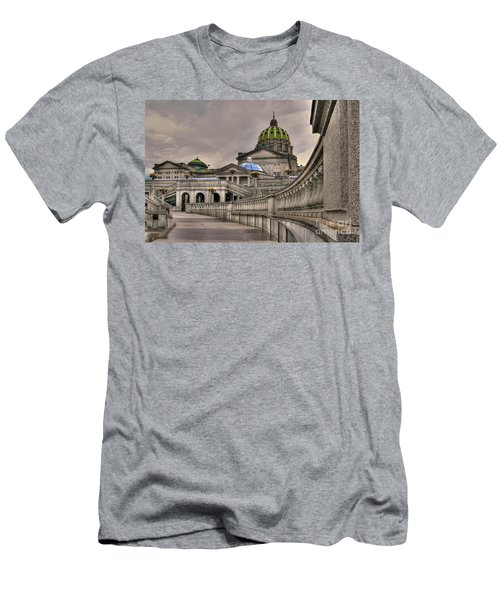 Pennsylvania State Capital Men's T-Shirt (Athletic Fit)