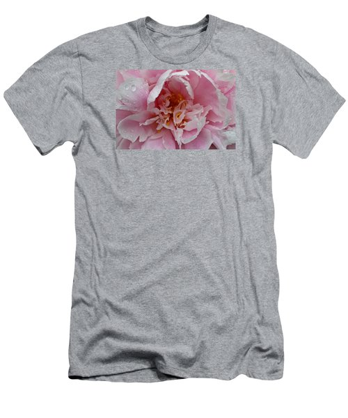 Peony Love Men's T-Shirt (Athletic Fit)